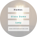 Glass Dome Lamp From Dandelion Interiors