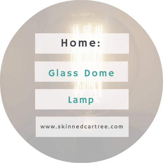 Glass Dome Lamp