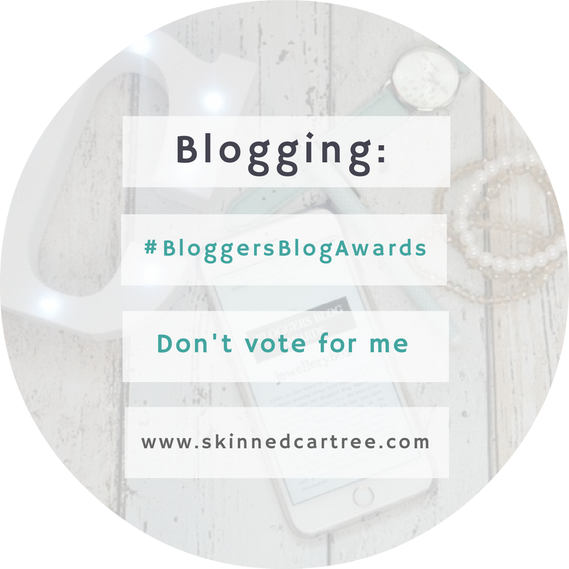#BloggersBlogAwards 2017