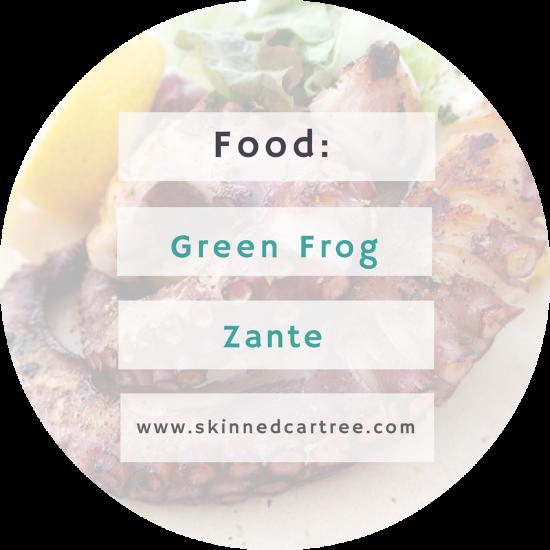 Green Frog Zante