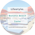 A day at Banana Beach, Zante