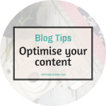 SEO Tips : How to optimise your on-page content
