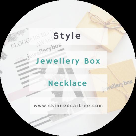 Jewellery Box at the #BloggersBlogAwards