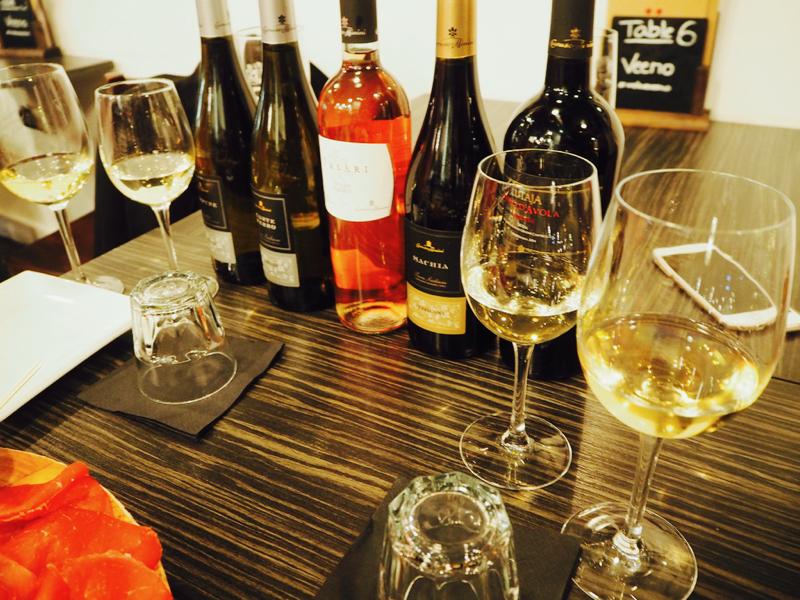Wine tasting at Veeno, York