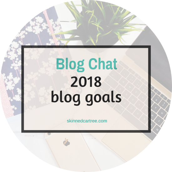 My blog goals for 2018 - balanced approach