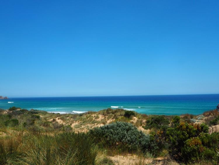 A hike on Phillip Island, Victoria