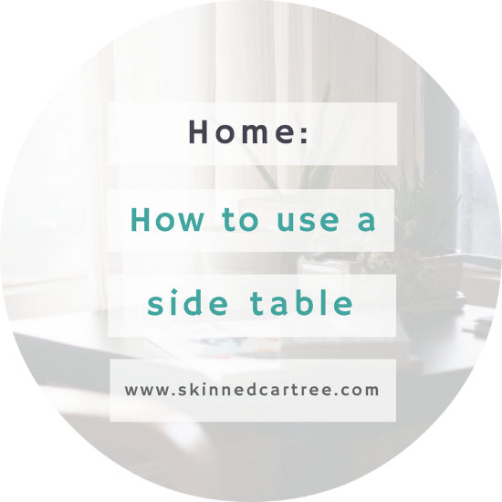 Different Ways to Use a Side Table Around the House