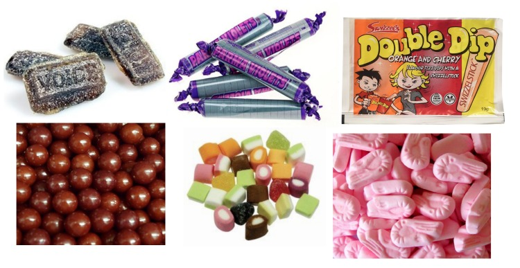 Favourite sweets as a child