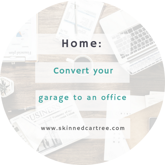 Tips for Converting Your Garage into an Office