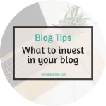 The best ways to invest money into your blog