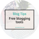Free blogging tools
