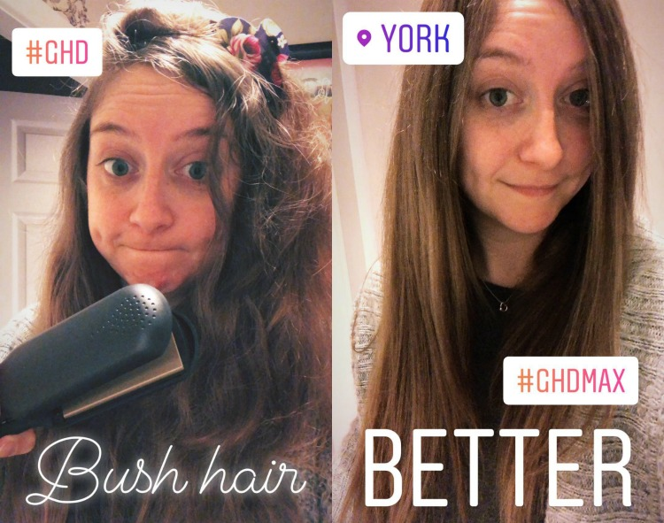 GHD V Gold Max Styler review