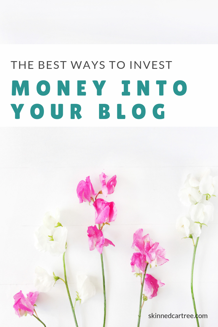best ways to invest money into your blog