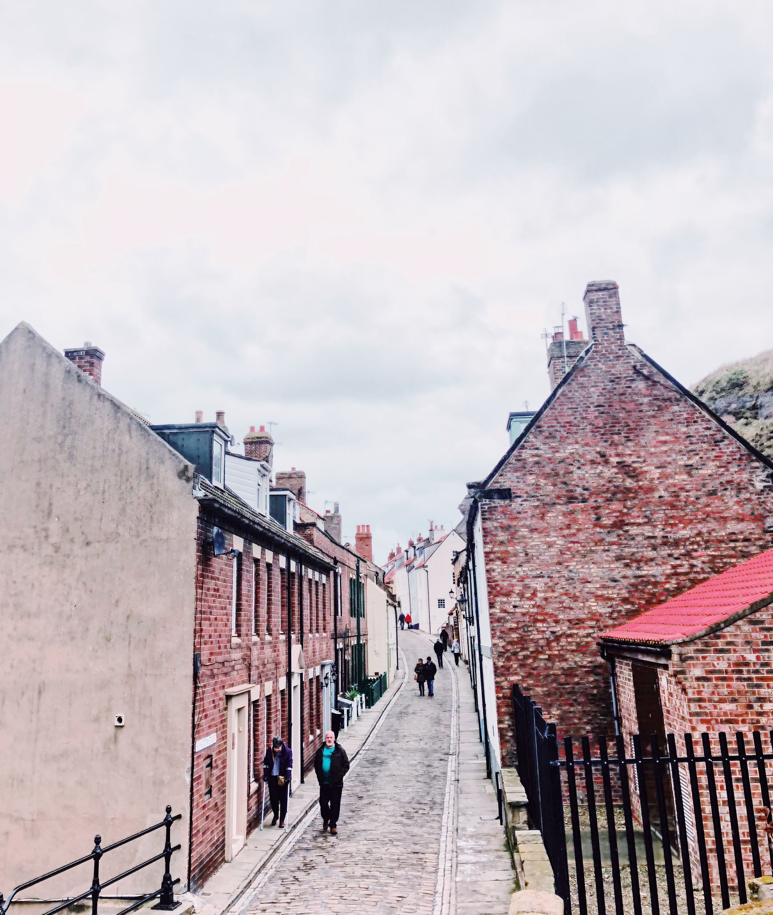 whitby street cobbled