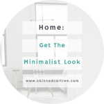 The Minimalist Look #MyInteriorStyling