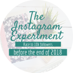 The Instagram Experiment: Race to 10k // Week 2