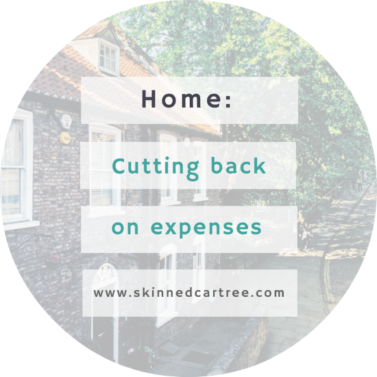 5 tips to cutting back on your home expenses