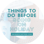Things to do before going on holiday