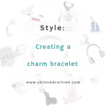 Making a charm bracelet with F Hinds