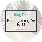 How I got my DA to 53