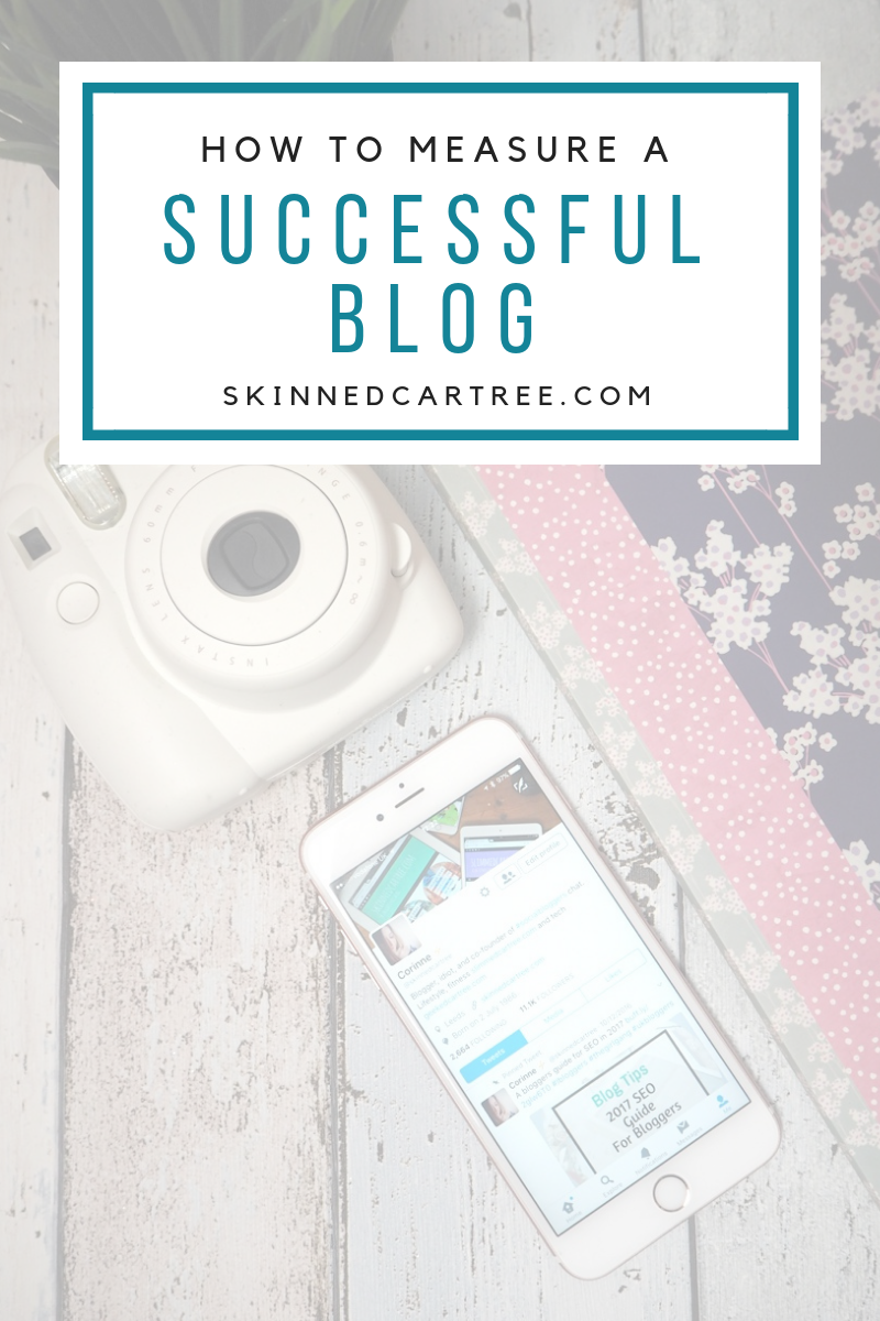 How do you measure a successful blog