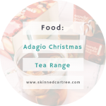 Getting ready for the cold weather with Adagio tea