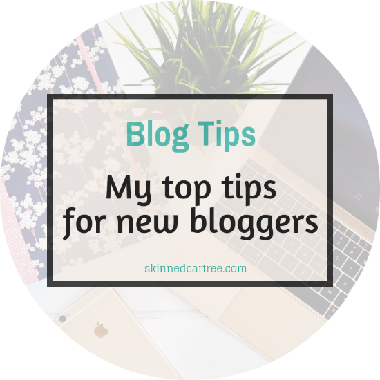 My top tips for new bloggers