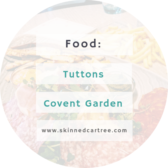 Tuttons review Covent Garden