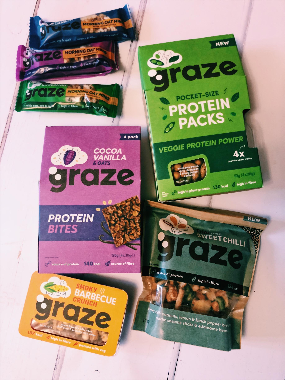 Graze Protein Snacks