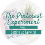 Having a crack at Pinterest with Tailwind