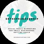 Social media marketing for small businesses  // Setting Goals
