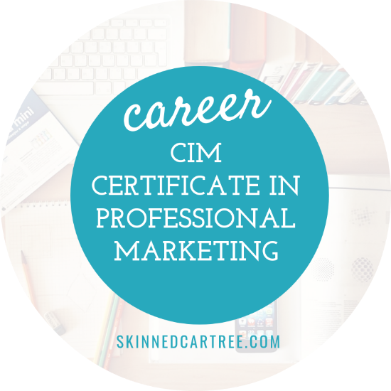 Studying for the CIM certificate in professional marketing