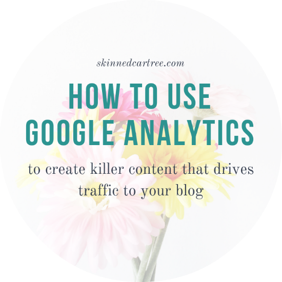 How to use Google Analytics to plan your best content