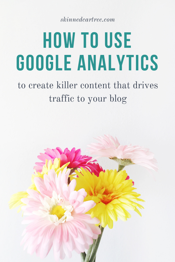 How to use Google Analytics to create killer content that drives traffic to your blog