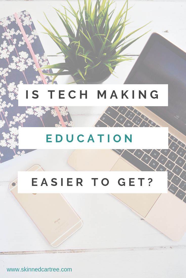 Is Technology Making Education Easier?