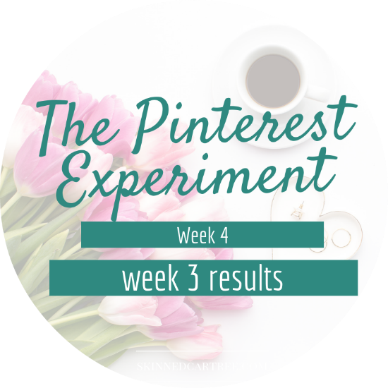 how to get blog views from pinterest