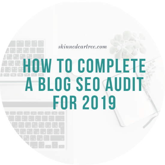 blog audit for 2019