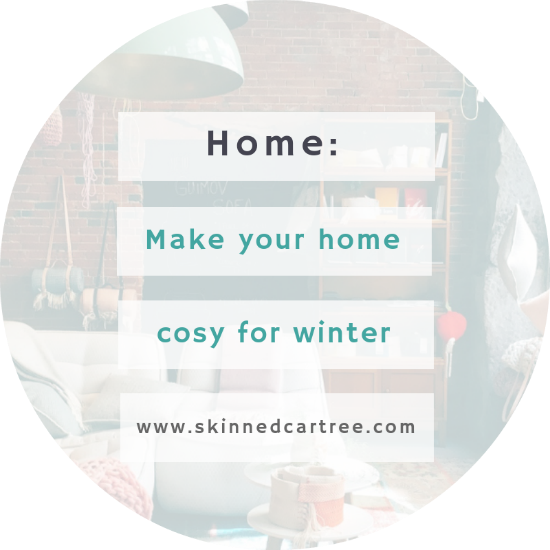 How to make your home cosy for winter