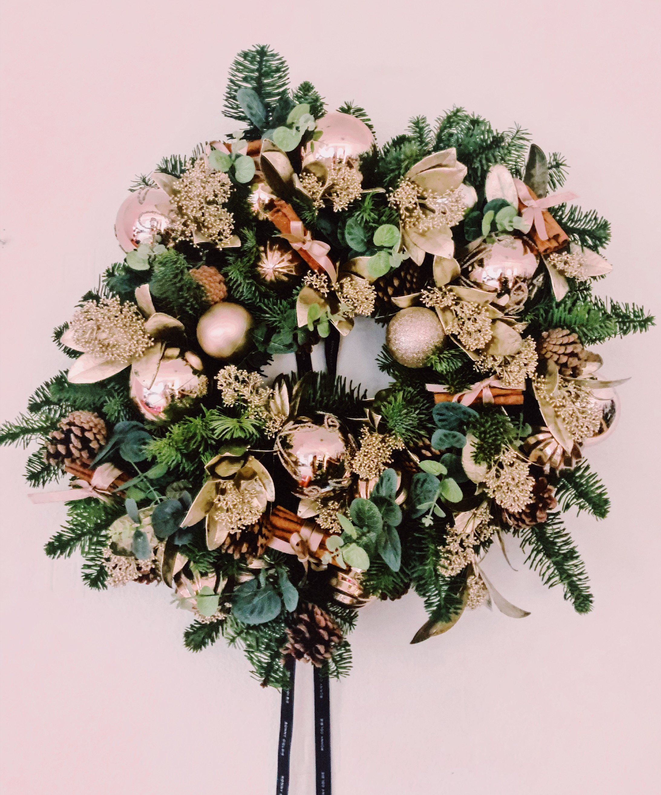 luxury christmas wreath ronny colbie review