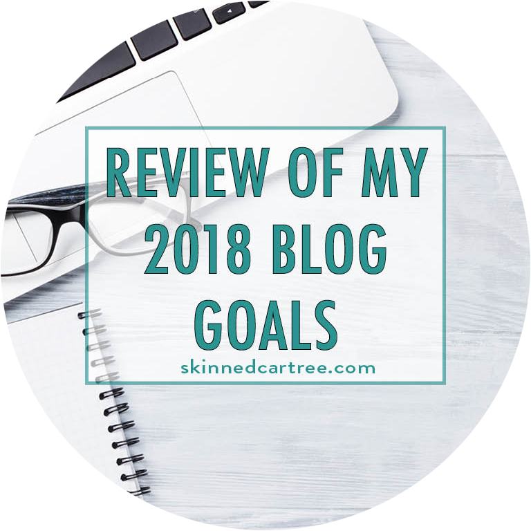 review of 2018 blog goals