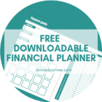 Monthly budget planner to track your finances in 2019