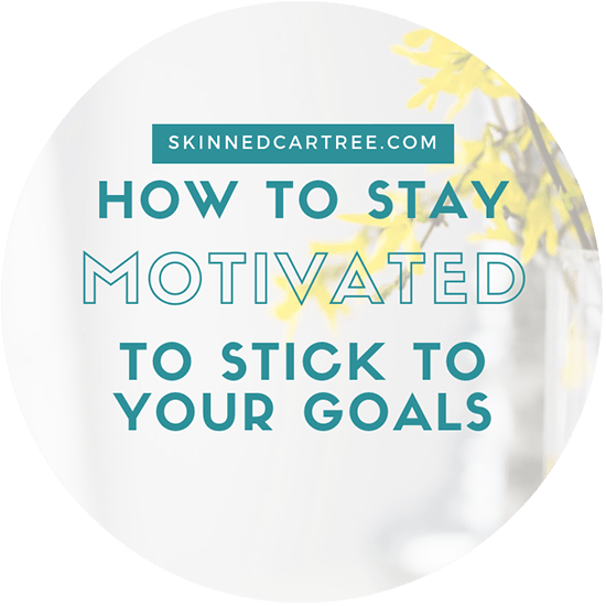 Staying motivated to stick to goals and week one review of mine