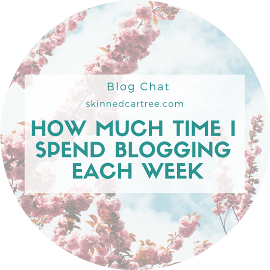 how much time do you spend blogging