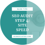 Blog Audit Guide Step 4: Increase site speed