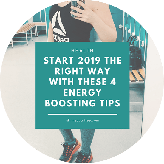 Sluggish and slow? Start 2019 the right way with these 4 energy boosting tips