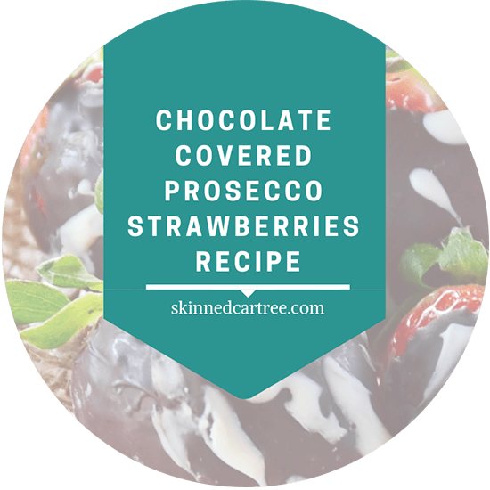 Chocolate Covered Prosecco Strawberries recipe
