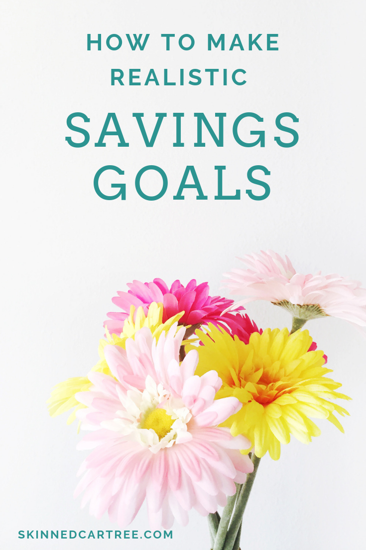 How to Make Realistic Savings Goals