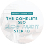 SEO Audit 10 // Check keywords you rank for