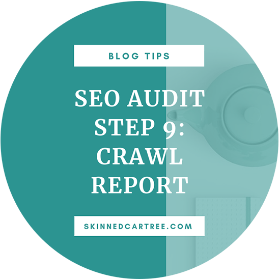 blog seo crawl report