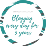 5 years of daily blogging
